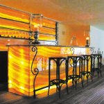 Backlit Onyx Bar Tops